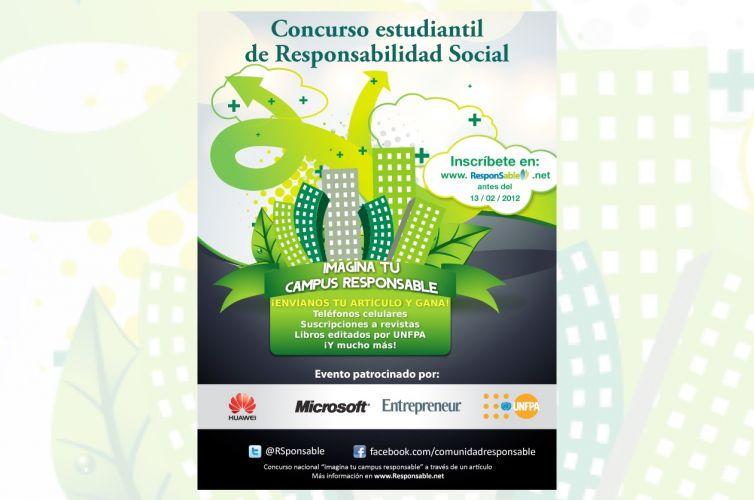 """Concurso estudiantil """"Imagina tu Campus Responsable"""""""