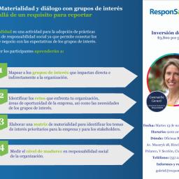 Taller: Materialidad y diálogo con grupos de interés, más allá de un requisito para reportar